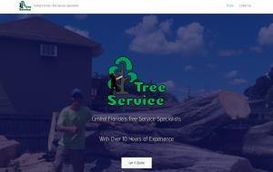 cntrl fl tree service screenshot